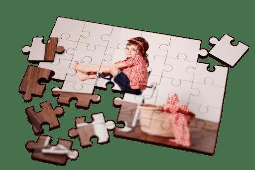 Puzzle infantil con foto 24 piezas.
