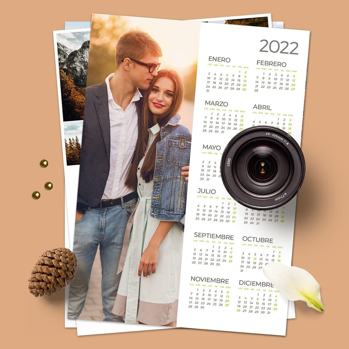 Calendario A3+ Foto Vertical cartulina laser