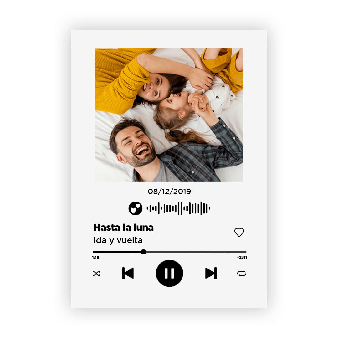 Spotify 20×30 Foam